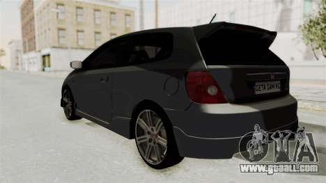 Honda Civic Type R EP3 for GTA San Andreas left view