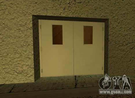 LSPD New Garage for GTA San Andreas forth screenshot