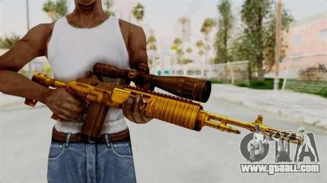 M14EBR Gold for GTA San Andreas third screenshot