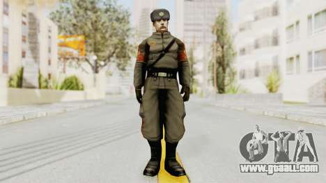 Russian Solider 1 from Freedom Fighters for GTA San Andreas second screenshot