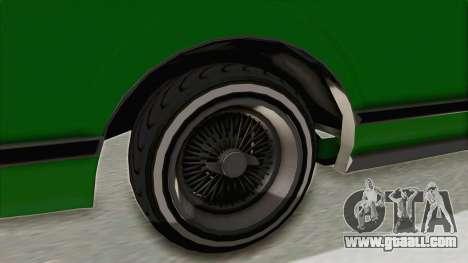 GTA 5 Dundreary Virgo Classic Custom v1 for GTA San Andreas back view