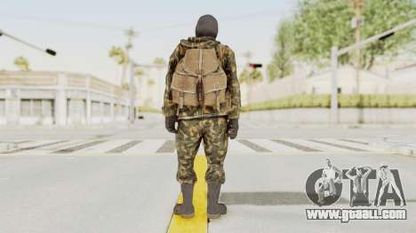 COD Black Ops Russian Spetznaz v5 for GTA San Andreas third screenshot