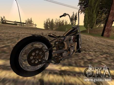Chopper Old School for GTA San Andreas left view
