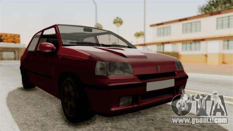 Renault Clio Williams for GTA San Andreas