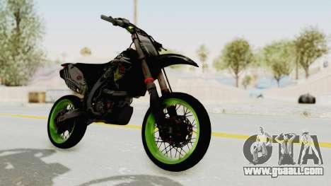 Kawasaki KX 125 Supermoto for GTA San Andreas
