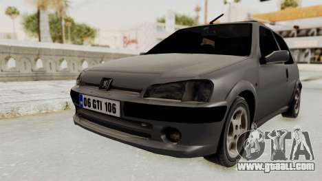 Peugeot 106 GTI Stock for GTA San Andreas right view