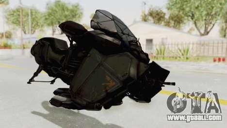 CoD Advanced Warfare - Hover Bike for GTA San Andreas right view