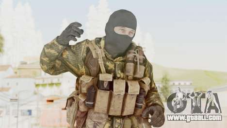 COD Black Ops Russian Spetznaz v5 for GTA San Andreas