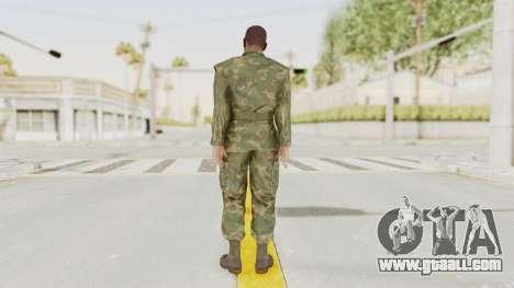 MGSV Ground Zeroes US Soldier No Gear v1 for GTA San Andreas third screenshot