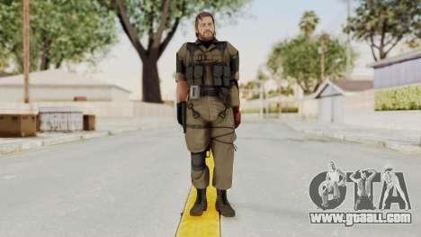 MGSV The Phantom Pain Venom Snake No Eyepatch v1 for GTA San Andreas second screenshot