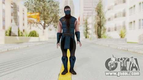 Mortal Kombat X Klassic Sub Zero v1 for GTA San Andreas second screenshot
