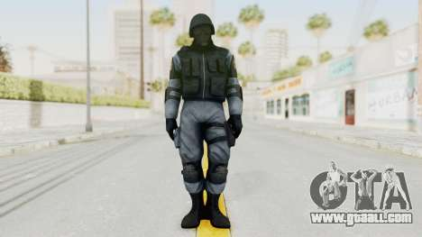 Batman Arkham Origins Swat for GTA San Andreas second screenshot