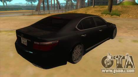 Lexus LS600HL 2008 for GTA San Andreas right view