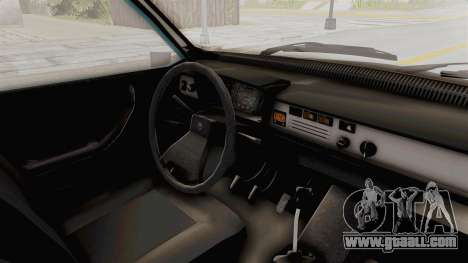 Dacia 1310 MLS 1989 for GTA San Andreas inner view