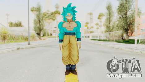 Dragon Ball Xenoverse Goku SSJ4 SSGSS for GTA San Andreas second screenshot