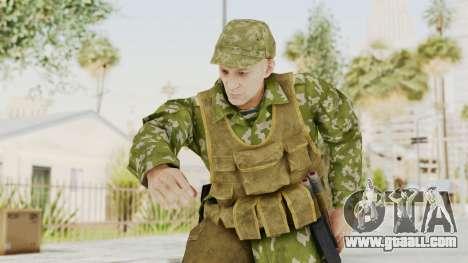 MGSV The Phantom Pain Soviet Union Vest v2 for GTA San Andreas