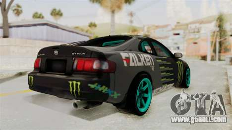 Toyota Celica GT Drift Monster Energy Falken for GTA San Andreas left view