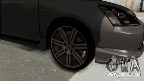 Honda Civic Type R EP3 for GTA San Andreas back view