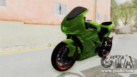 Kawasaki Ninja 250R Asian Style for GTA San Andreas right view