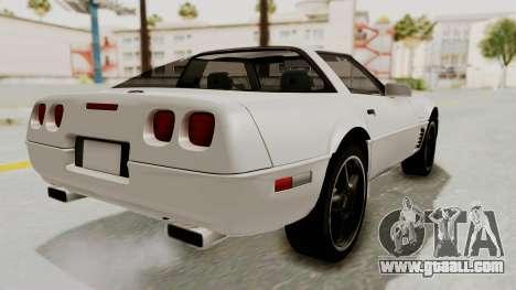 Chevrolet Corvette C4 1996 for GTA San Andreas left view