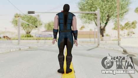 Mortal Kombat X Klassic Sub Zero v1 for GTA San Andreas third screenshot