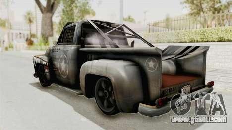 GTA 5 Slamvan Race PJ2 for GTA San Andreas left view