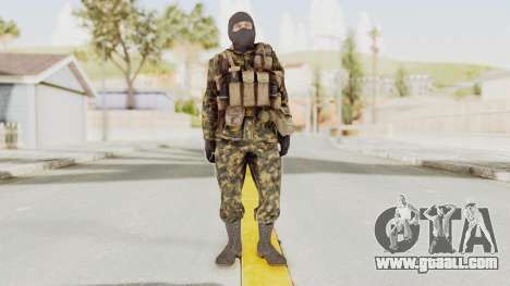 COD Black Ops Russian Spetznaz v5 for GTA San Andreas second screenshot