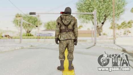 COD Black Ops Russian Spetznaz v2 for GTA San Andreas third screenshot