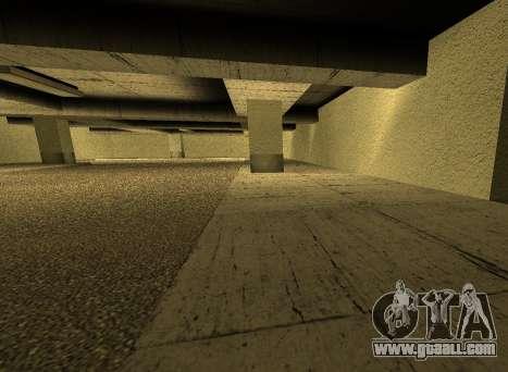 LSPD New Garage for GTA San Andreas fifth screenshot