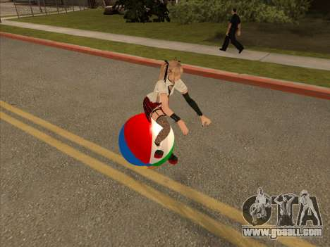 Beachball for GTA San Andreas left view
