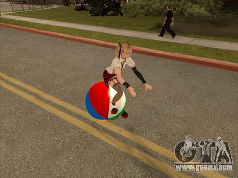 Beachball for GTA San Andreas left view