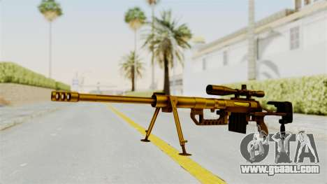 Cheytac M200 Intervention Gold for GTA San Andreas