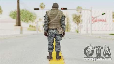 COD BO Russian Spetznas Flak MP v1 for GTA San Andreas third screenshot