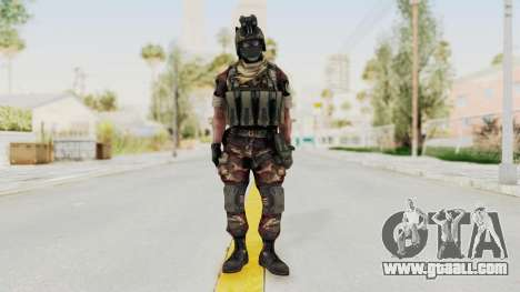 Battery Online Russian Soldier 3 v1 for GTA San Andreas second screenshot