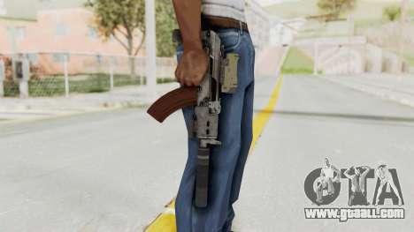 Combat SMG for GTA San Andreas