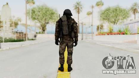 CoD MW3 Russian Military SMG v3 for GTA San Andreas third screenshot