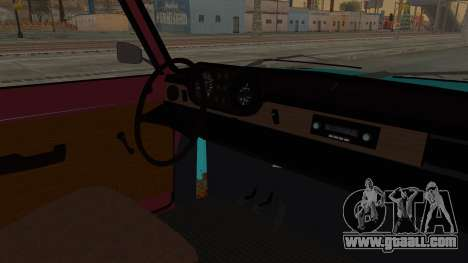 Tampa Daytona for GTA San Andreas inner view