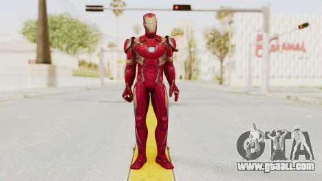 Marvel Future Fight - Iron Man (Civil War) for GTA San Andreas second screenshot