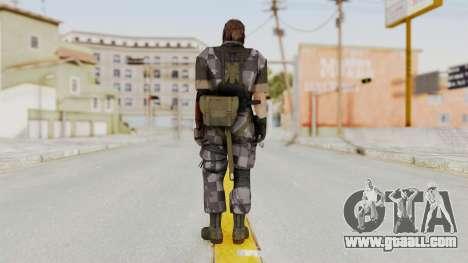 MGSV The Phantom Pain Venom Snake Square for GTA San Andreas third screenshot