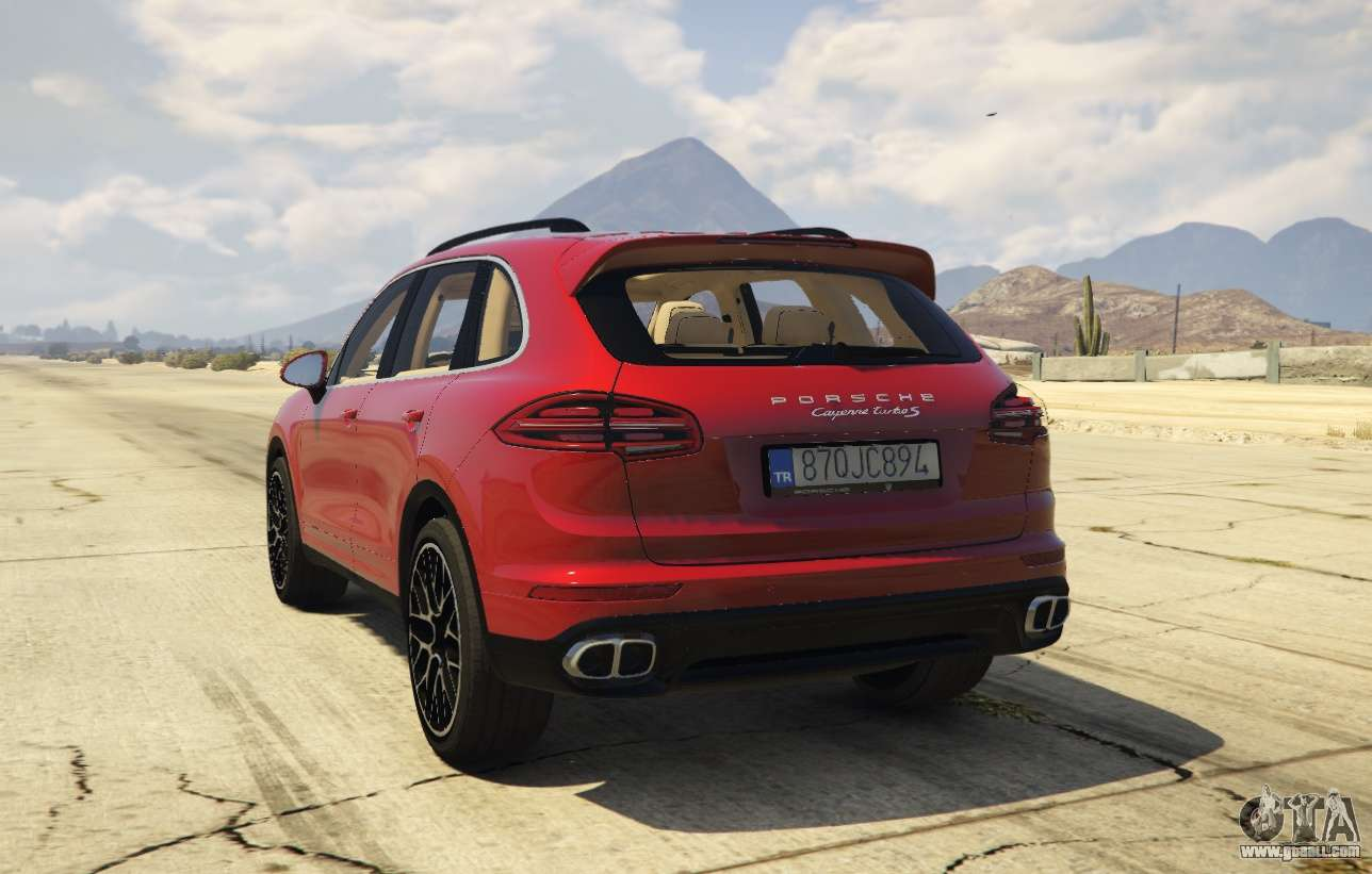 2016 porsche cayenne turbo s gts for gta 5. Black Bedroom Furniture Sets. Home Design Ideas