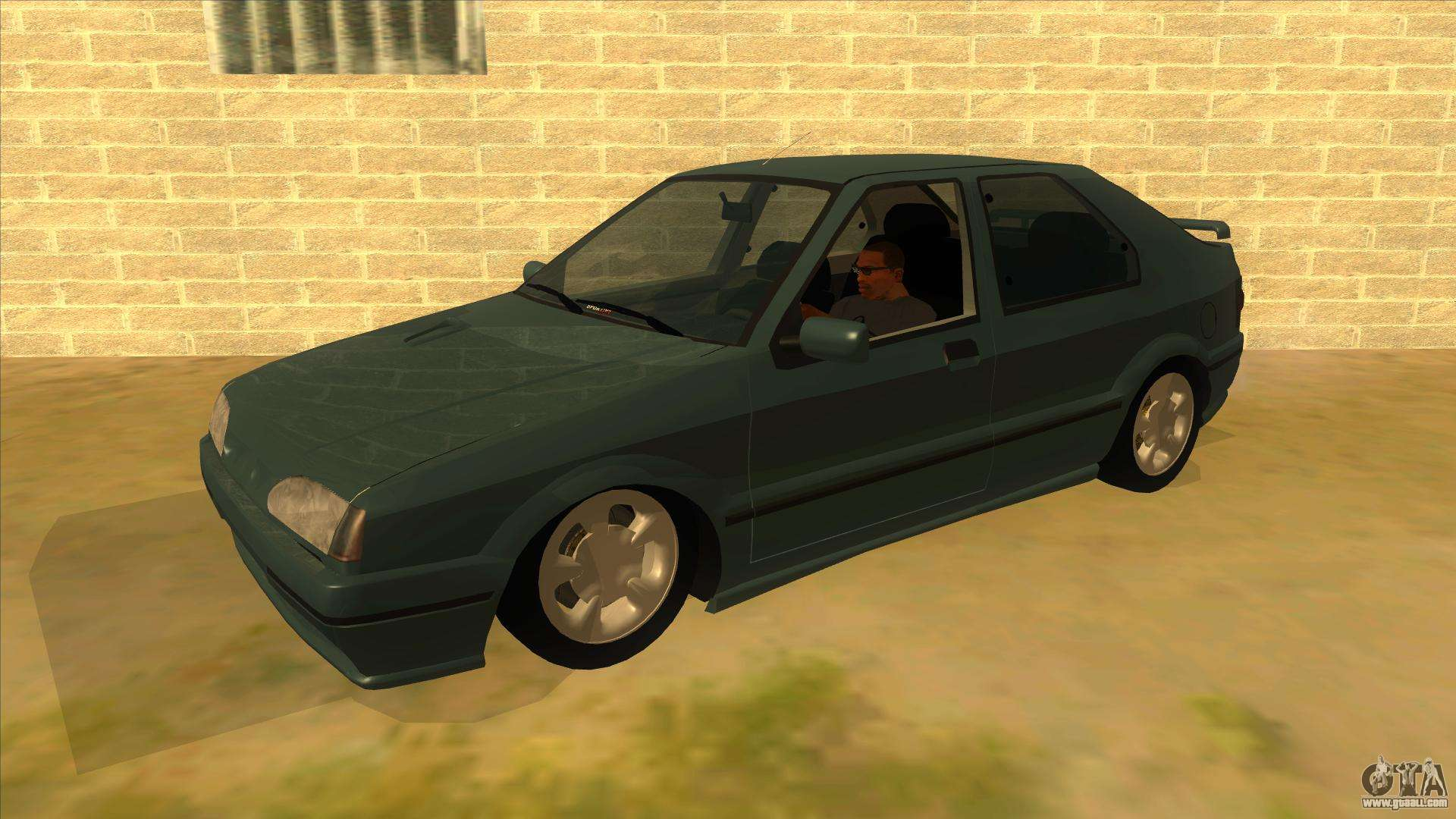 renault 19 coupe for gta san andreas. Black Bedroom Furniture Sets. Home Design Ideas