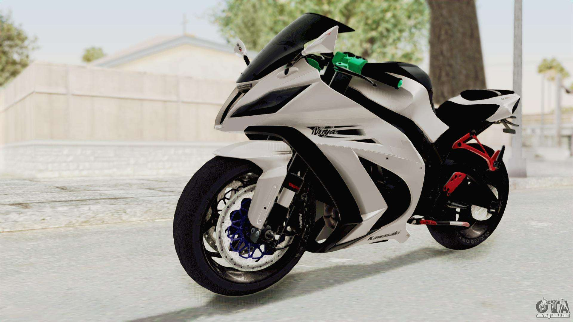 Kawasaki Ninja White Modified