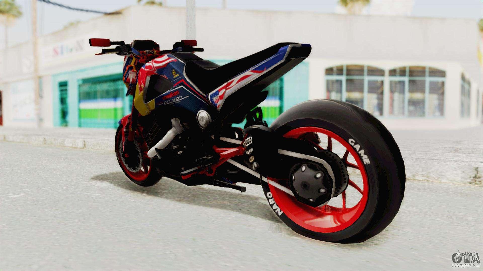 Honda MSX 125 Modified for GTA San Andreas
