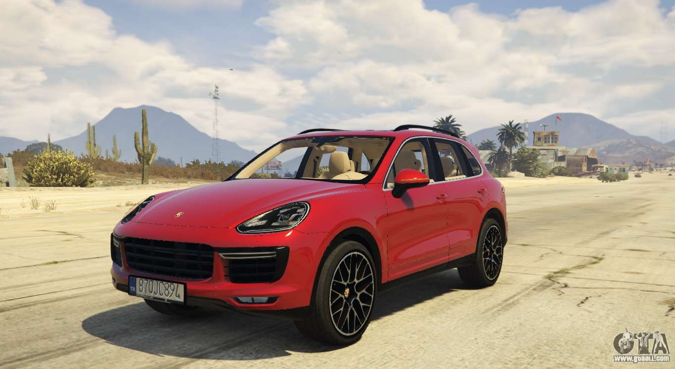 2016 Porsche Cayenne Turbo S Gts For Gta 5