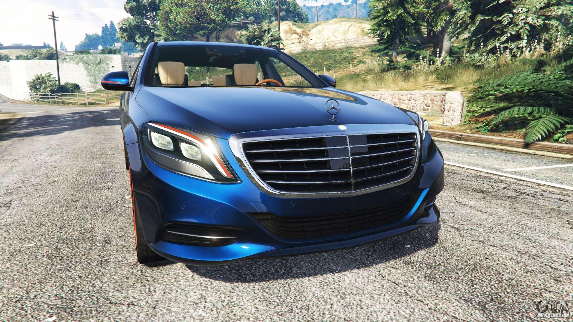 Mercedes benz s500 w222 yokohama v2 1 for gta 5 for Mercedes benz s500