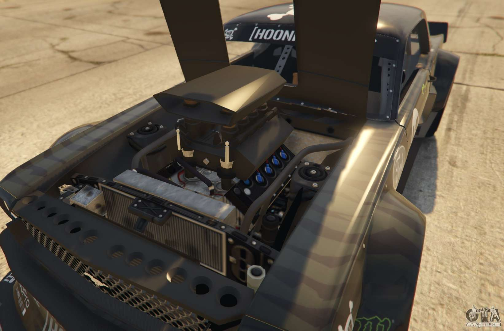 Pawafuru Engine Faction System: Ford Mustang 1965 Hoonicorn 1.2 [Replace] For GTA 5