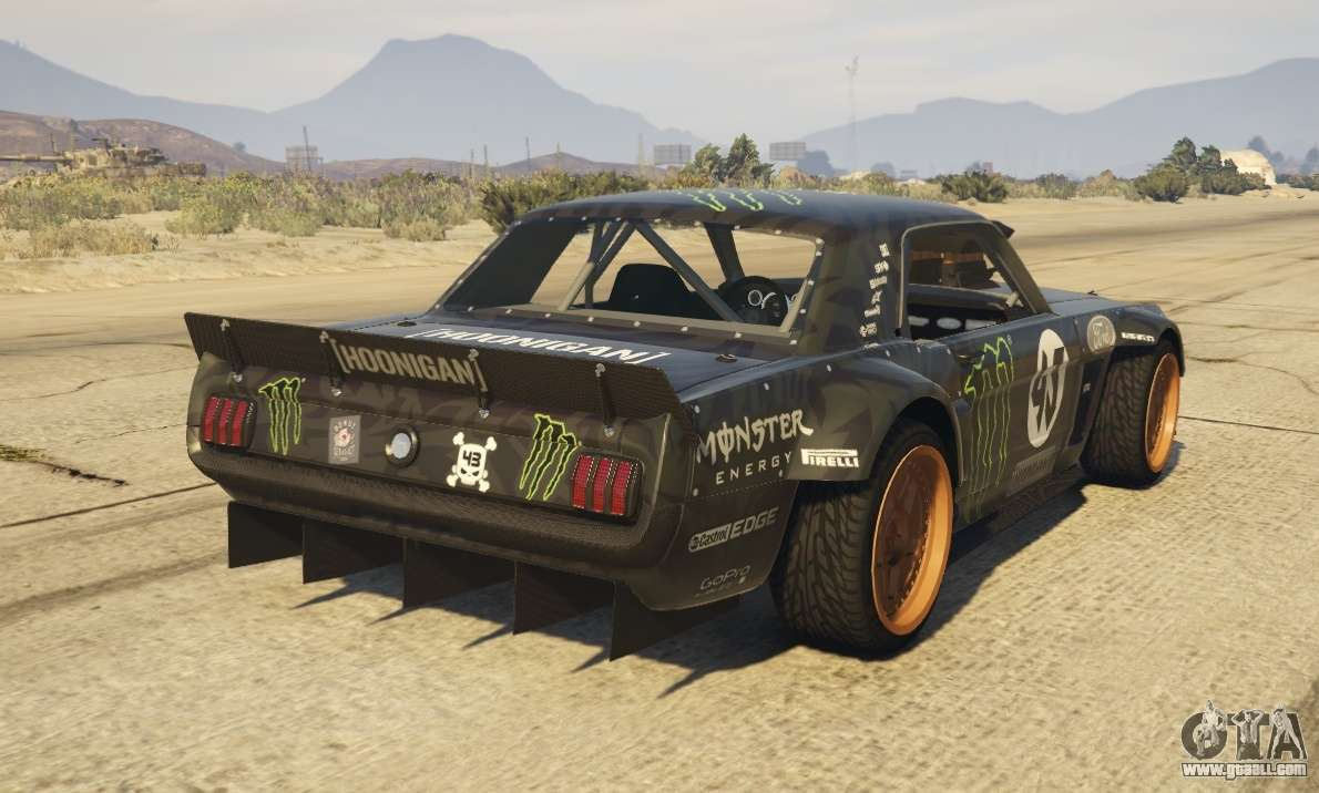 Customized Mustang >> Ford Mustang 1965 Hoonicorn 1.2 [Replace] for GTA 5