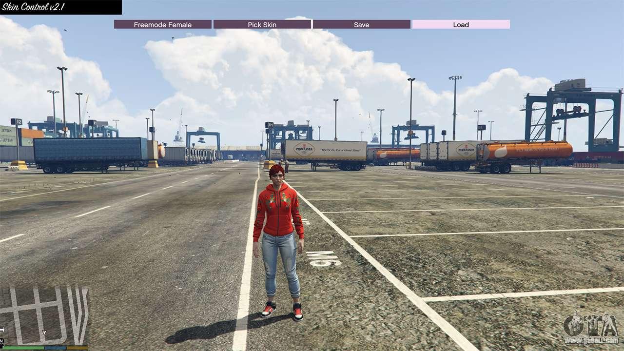 Gta 5 skin control 2 1 fourth screenshot