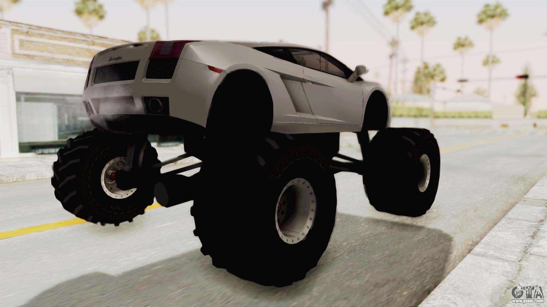 Lamborghini Gallardo 2005 Monster Truck for GTA San Andreas