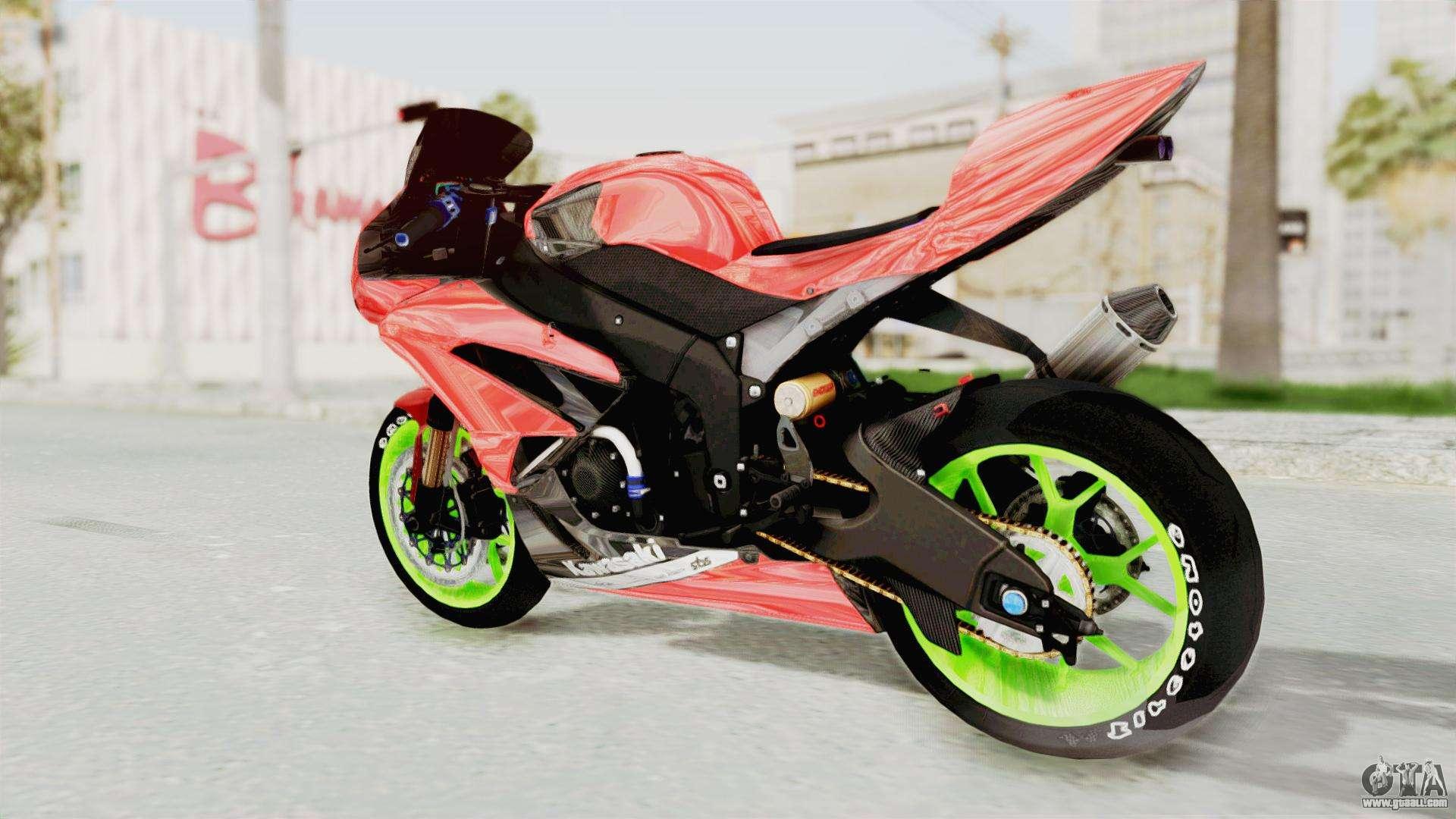 Kawasaki Ninja ZX-6R Boy from Anak Jalanan for GTA San Andreas